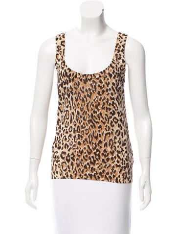 Dolce & Gabbana Printed Knit Top None