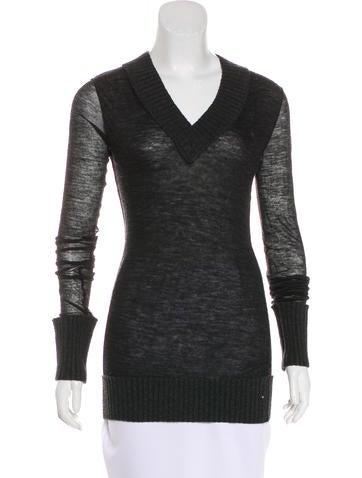 Dolce & Gabbana Knit Wool-Blend Top None