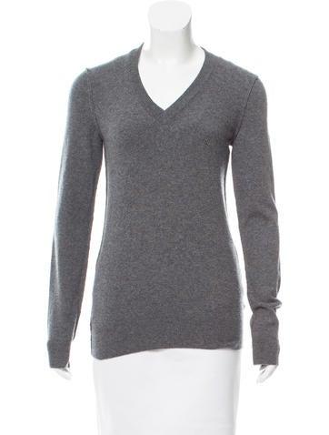 Dolce & Gabbana Cashmere V-Neck Sweater None