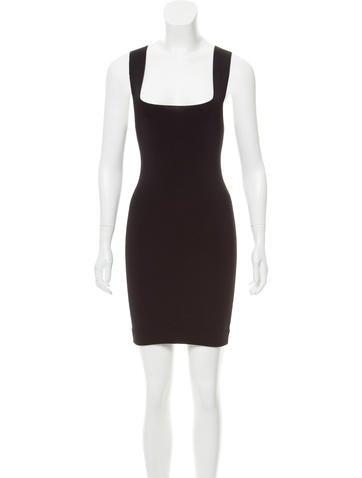 Dolce & Gabbana Rib Knit Bodycon Dress None