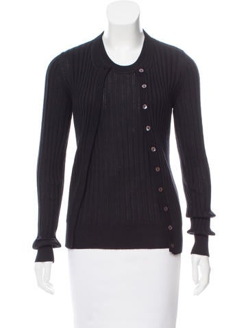 Dolce & Gabbana Ribbed Knit Cardigan Set None