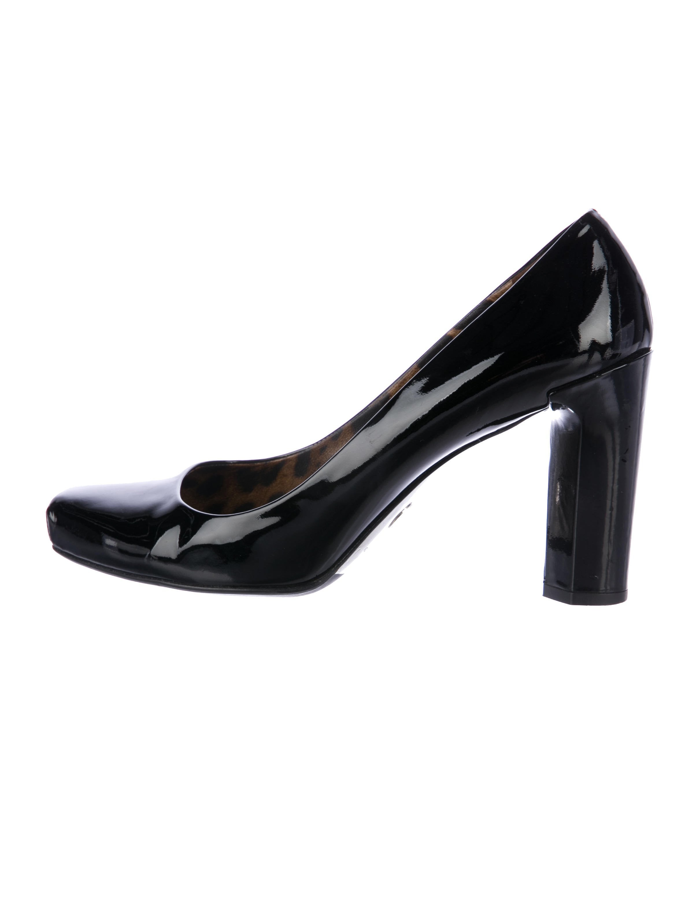 Dolce & Gabbana Patent Square-Toe Pumps sale discount outlet free shipping 2014 unisex cheap online cheap really cheap sale purchase jnYARYDIO