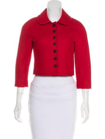 Dolce & Gabbana Virgin Wool Jacket None