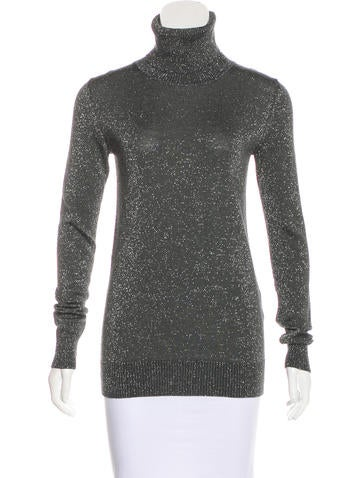 Dolce & Gabbana Metallic Virgin Wool Sweater None