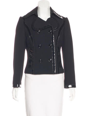 Dolce & Gabbana Double-Breasted Virgin Wool Jacket None
