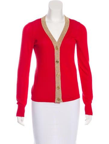Dolce & Gabbana Knit Button-Up Cardigan None