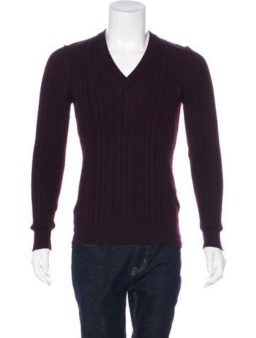 Dolce & Gabbana Virgin Wool V-Neck Sweater None