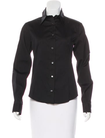 Dolce & Gabbana Fitted Button-Up Top None