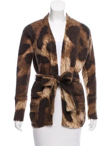 Dolce & Gabbana Mohair Button-Up Cardigan None