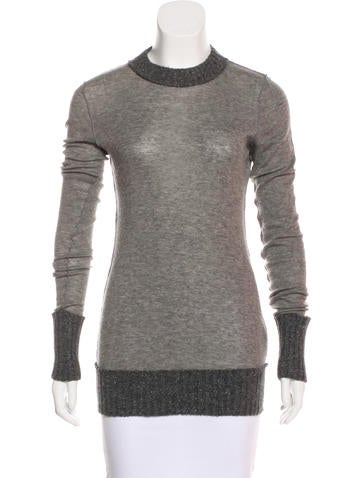 Dolce & Gabbana Cashmere Long Sleeve Top None