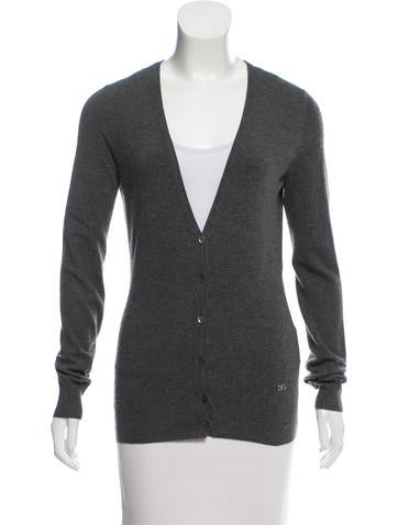 Dolce & Gabbana Knit Button-Up Cardigan None
