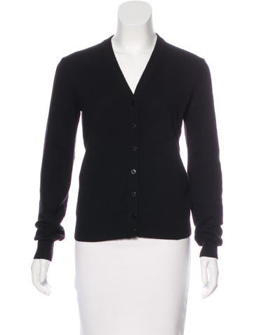 Dolce & Gabbana Cashmere Button-Up Cardigan None