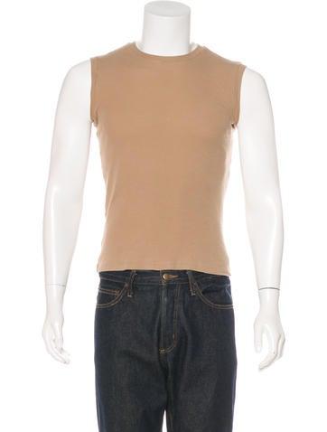 D&G Rib Knit Sleeveless T-Shirt None