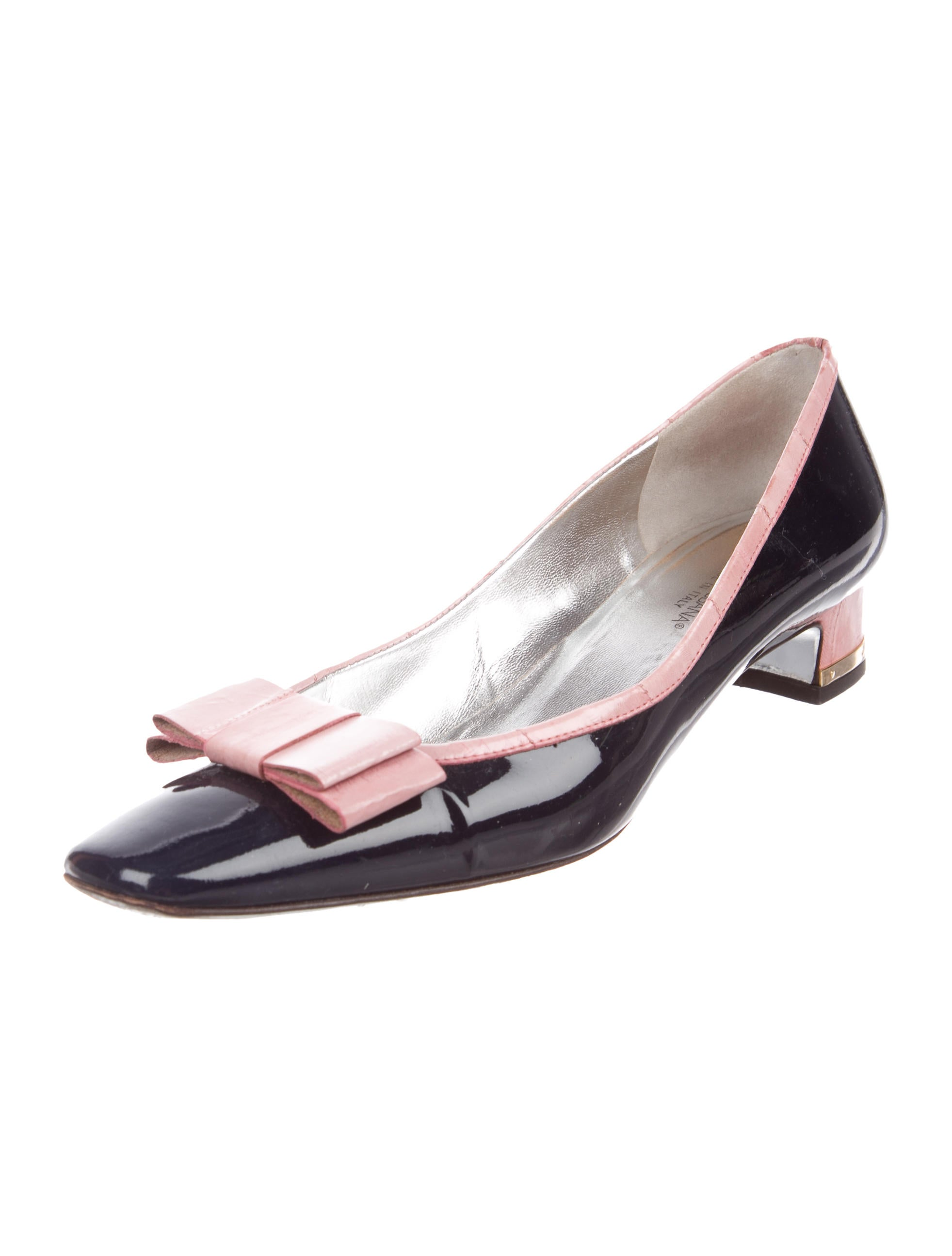cheap sale 2014 newest cheap price pre order Dolce & Gabbana Eelskin-Accented Patent Pumps outlet top quality buy cheap original discount with mastercard rZlRNU30gh