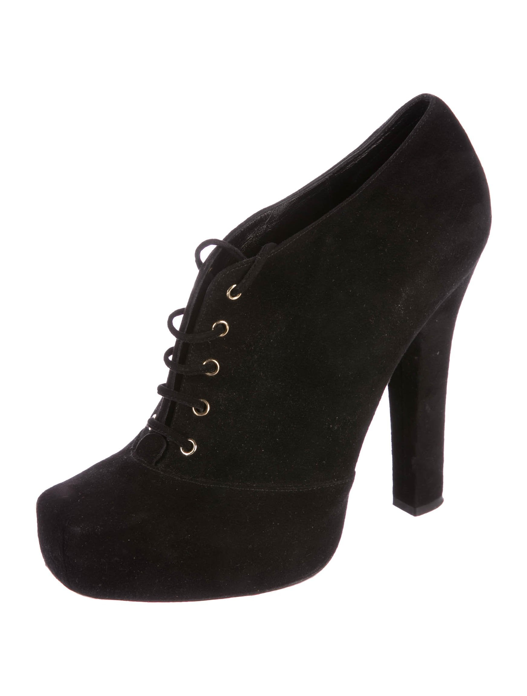 Dolce & Gabbana Square-Toe Platform Booties outlet free shipping low shipping fee DlCCxkM1d