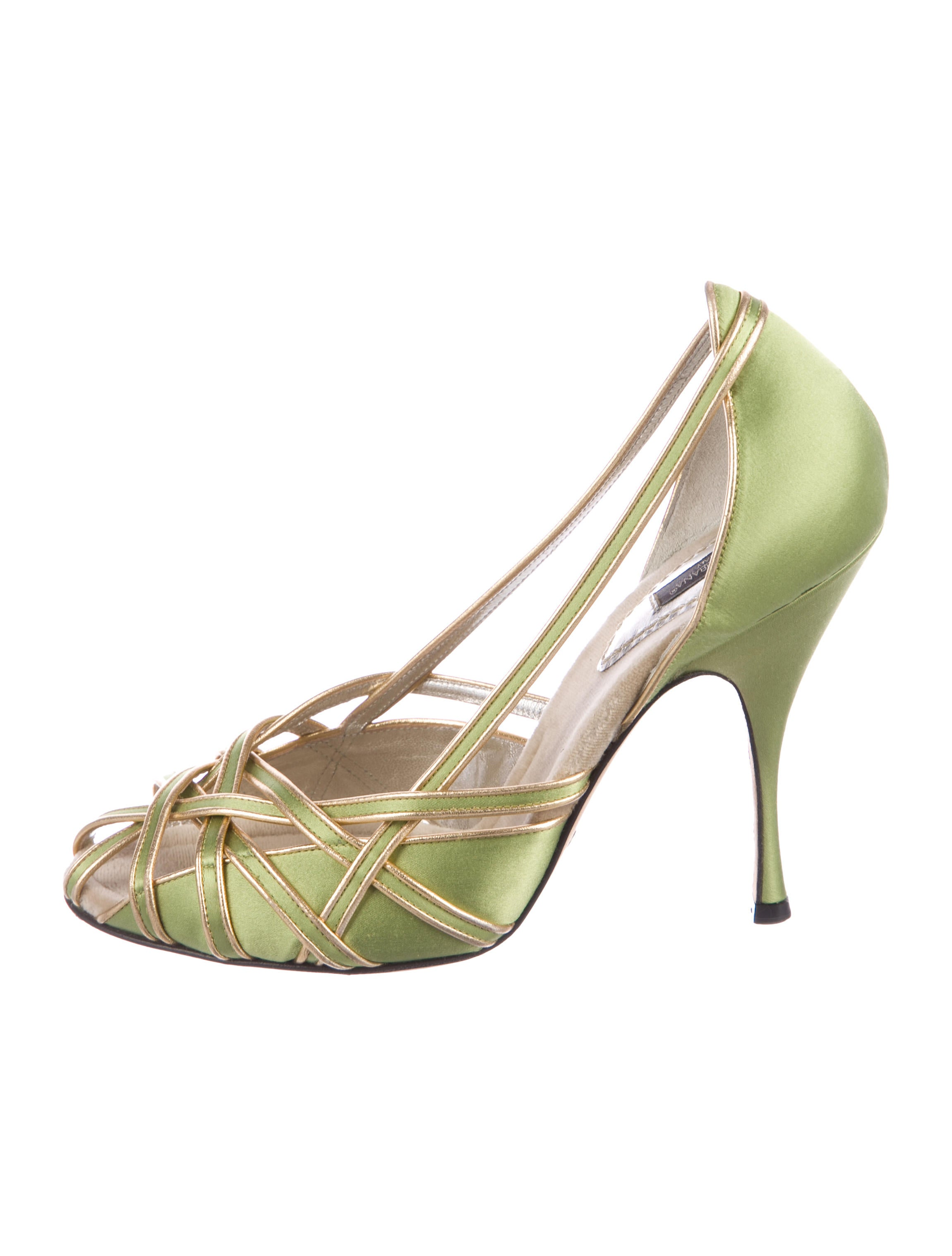 Dolce & Gabbana Satin Multistrap Pumps really low shipping fee cheap online wide range of free shipping fashion Style cheap sale best seller tkGpnSKZb