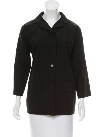 Dolce & Gabbana Wool Notch-Lapel Blazer None