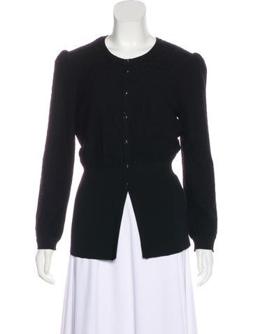 Dolce & Gabbana Wool Knit Cardigan None