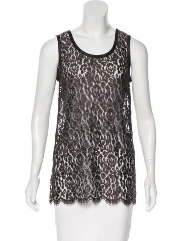 Dolce & Gabbana Lace Sleeveless Top w/ Tags None