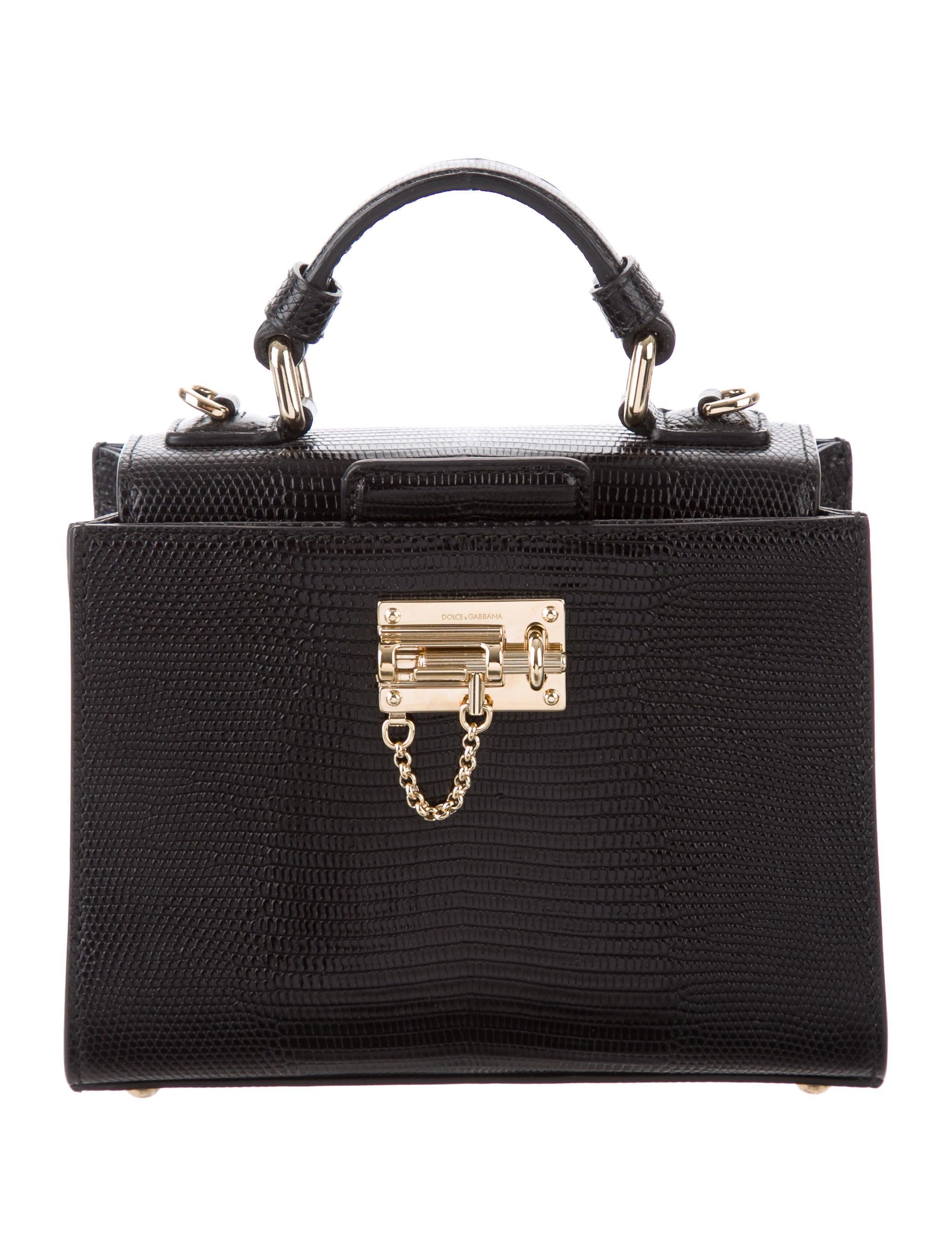 5f4377233b Dolce   Gabbana Embossed Monica Bag - Handbags - DAG106656