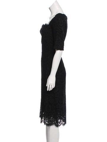 Lace Midi Dress w/ Tags