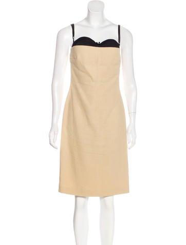 Dolce & Gabbana Sleeveless Mini Dress None