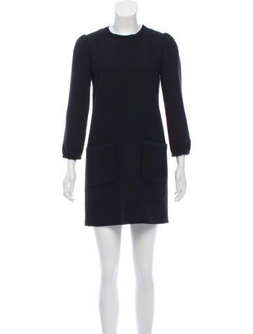 Dolce & Gabbana Wool Mini Dress None