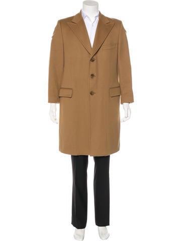Dolce & Gabbana Wool Peak-Lapel Coat None