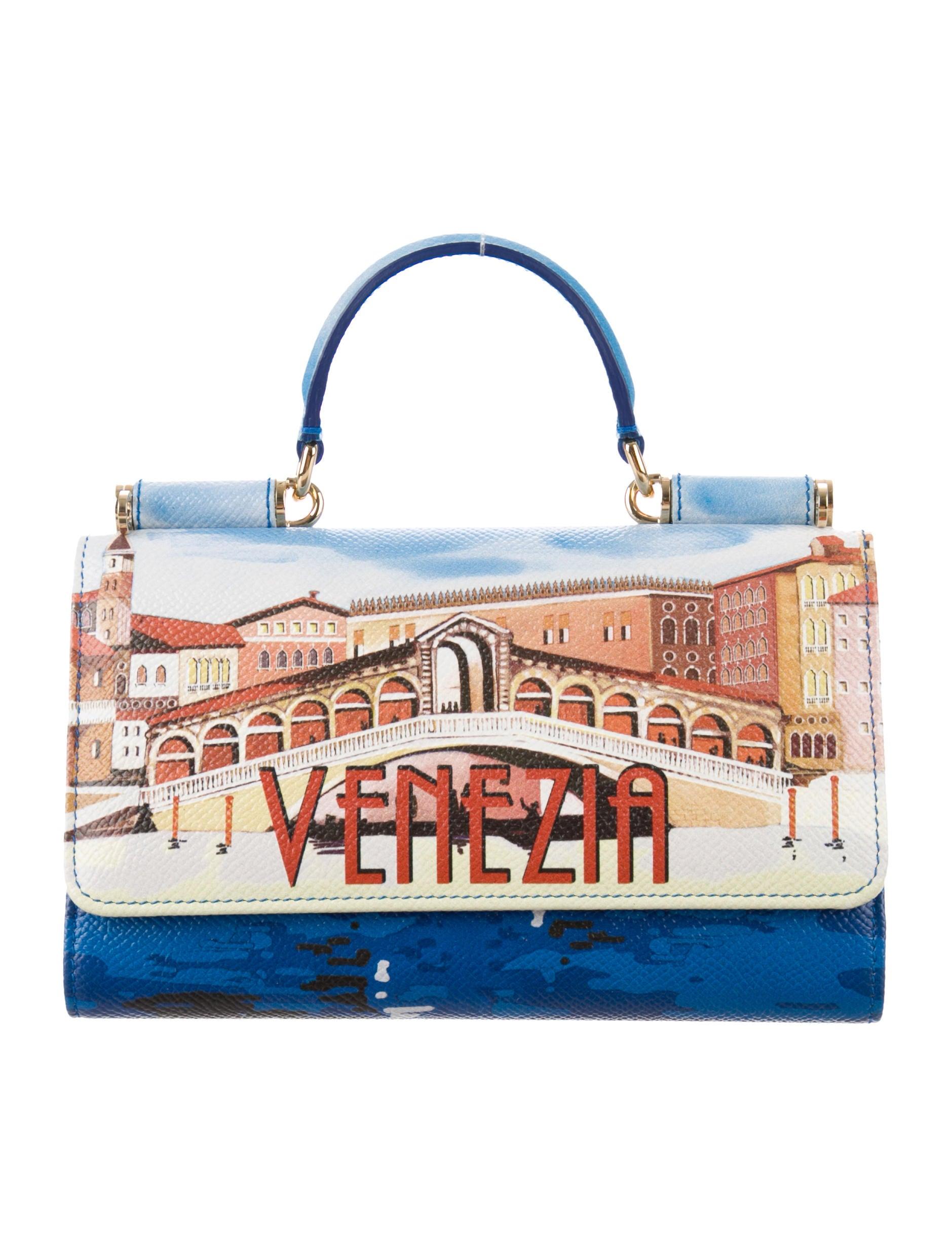 Dolce   Gabbana Mini Sicily Von Phone Crossbody Bag - Handbags ... 2559634d06645