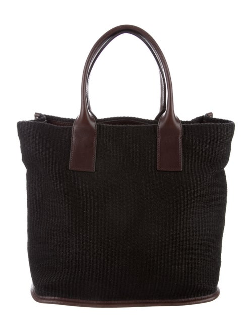 Dolce   Gabbana Leather-Trimmed Raffia Tote - Bags - DAG127453  1edce5c0df63d