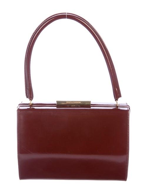 487bcaa97e44 Dolce   Gabbana Vintage Leather Frame Bag - Handbags - DAG131267 ...
