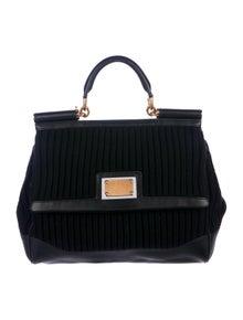 Dolce   Gabbana. Knit Miss Sicily Bag 31c96ebeef1e2