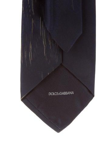 f3378f2bdf7 Dolce   Gabbana. Abstract Print Silk Tie