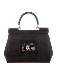 df636a9835 Denim Miss Sicily Bag.  525.00 · Dolce   Gabbana