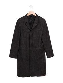 39d5157d43e0 Dolce   Gabbana. Boys  Wool Houndstooth Coat