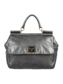 01c4e74504b1a Dolce   Gabbana. Metallic Miss Sicily Bag