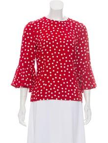 0b6230e8 Dolce & Gabbana. Flounced Polka Dot ...