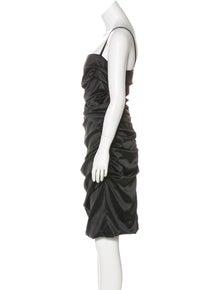 0df3acdb Dolce & Gabbana. Silk Ruched Dress