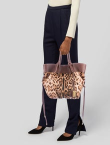 3d3bbeca3321 Dolce & Gabbana. Animal Print Ponyhair Shoulder Bag