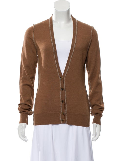 Dolce & Gabbana Lightweight Knit Cardigan Brown
