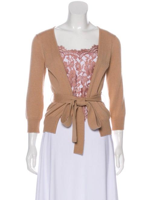 Dolce & Gabbana Lightweight Knit Sweater Beige