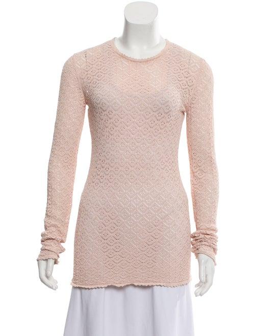 Dolce & Gabbana Lightweight Knit Sweater Pink