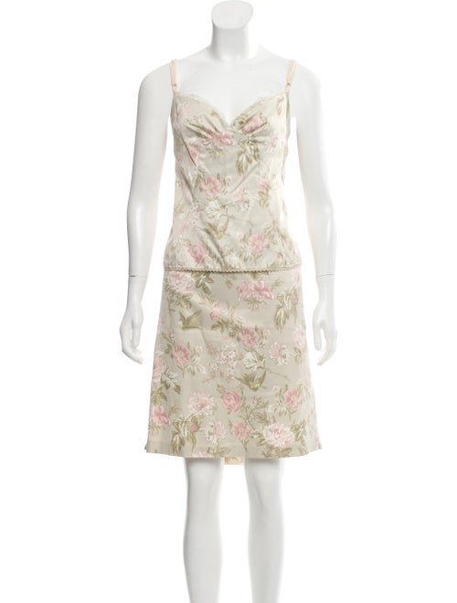 Dolce & Gabbana Floral Print Two-Piece Set green - image 1