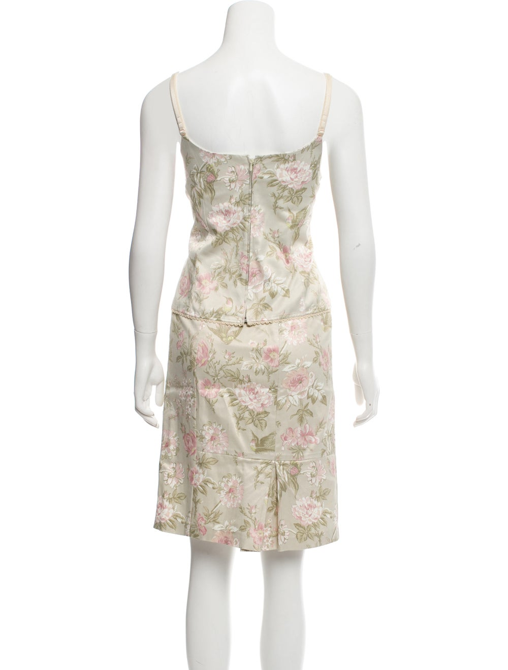 Dolce & Gabbana Floral Print Two-Piece Set green - image 3