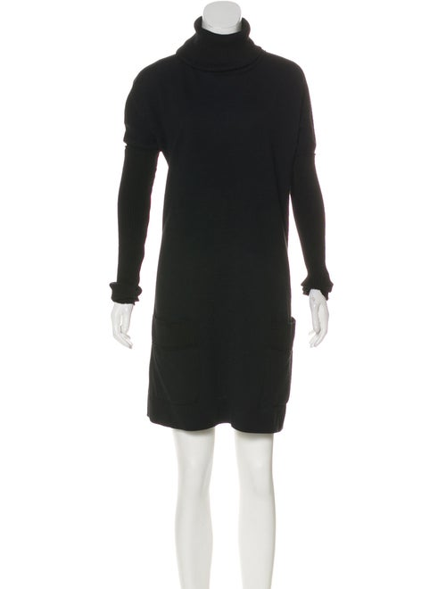 Dolce & Gabbana Mini Knit Dress Black