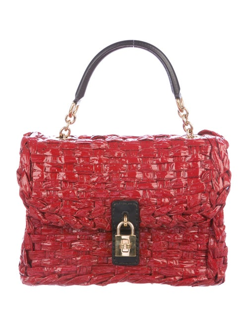 Dolce & Gabbana Miss Dolce Handle Bag Red