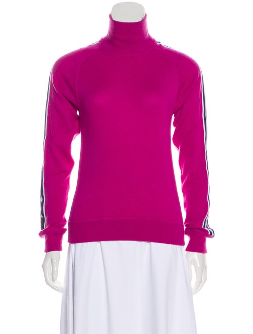 Dolce & Gabbana Turtleneck Knit Sweater Pink