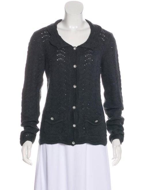 Dolce & Gabbana Scalloped Knit Cardigan