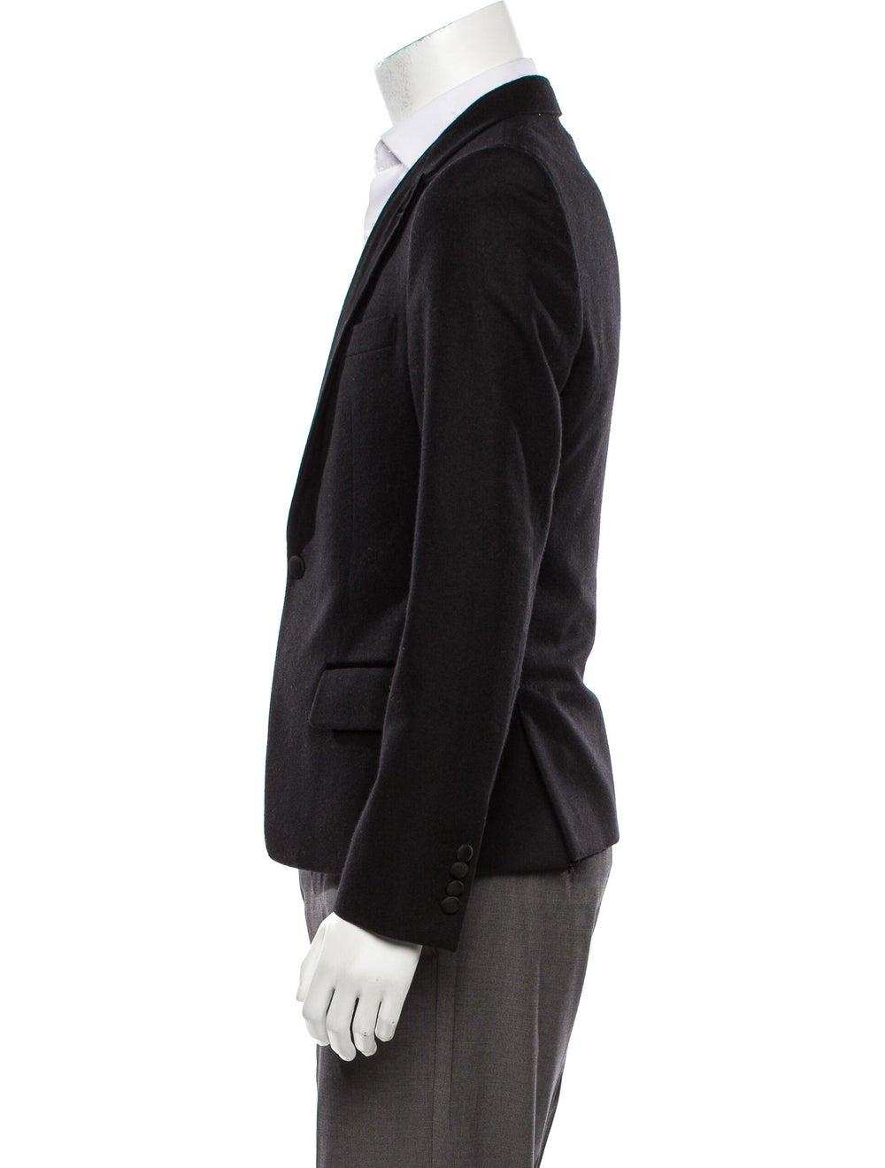 Dolce & Gabbana Velvet-Trimmed Wool Tuxedo Jacket… - image 2
