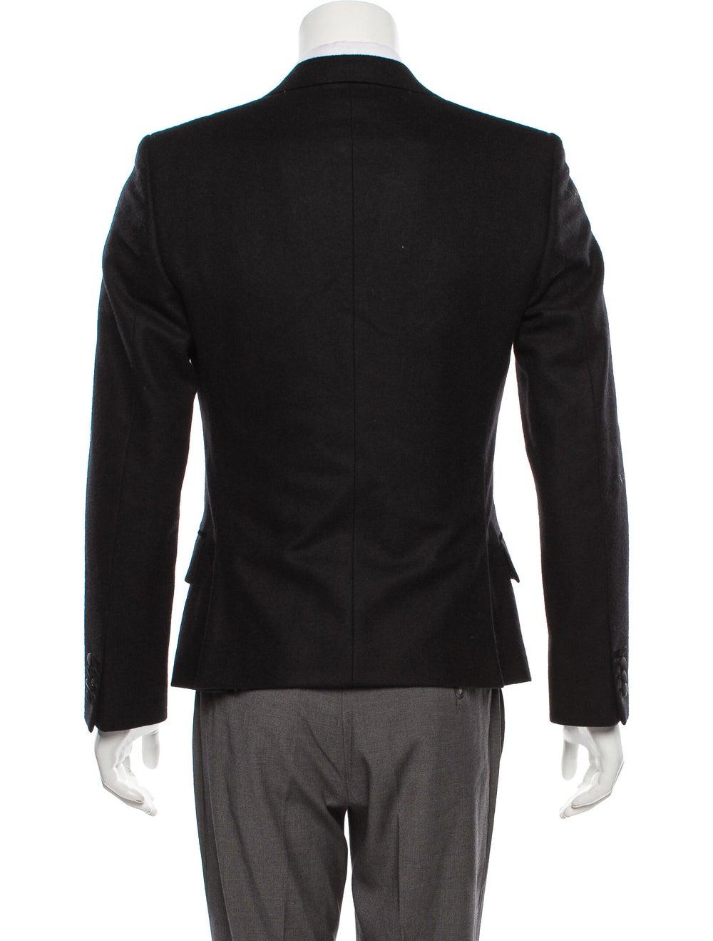 Dolce & Gabbana Velvet-Trimmed Wool Tuxedo Jacket… - image 3